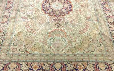 What happens to rugs that customers don't pick up?